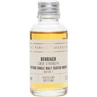 3cl / 57.2% / The Perfect Measure - The first batch of Benriach's cask-strength release. This is warming and creamy with notes of apple, pear, apricot and ginger.