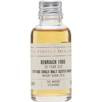 Benriach 28 Years Old Sample / Whisky Show 2018 Speyside Whisky