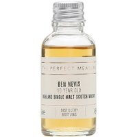3cl / 46% / The Perfect Measure - Ben Nevis 10 Year Old is a whisky that punches well above its price point. A full-bodied dram with notes of tropical fruit, dark chocolate, coffee and a whiff of peat.
