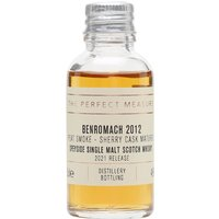 Benromach Contrasts: Peat Smoke Sherry Cask 2012 Sample / 2021 Release Speyside Whisky