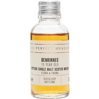3cl / 43% / The Perfect Measure - The Benrinnes entry in the Flora & Fauna series is triple distilled and aged for 15 years. A rich and spicy Speysider.