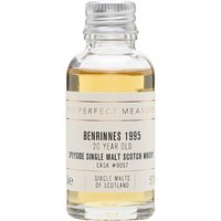 3cl / 51.1% / The Perfect Measure - A fruity 20-year-old Benrinnes from Speciality Drinks Ltd's The Single Malts of Scotland series. This 1995 vintage whisky was aged in a hogshead.