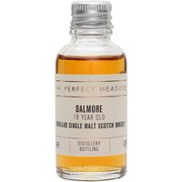 3cl / 43% / The Perfect Measure - A sweet and spicy whisky from Dalmore, the 18 year old is rich, spicy and complex with notes of liquorice and cinnamon.