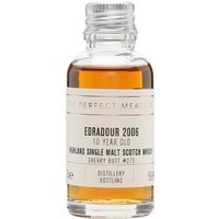 3cl / 59.9% / The Perfect Measure - A classic example of sherried whisky with notes of dried fruit, orange and chocolate. This was distilled at Edradour in 2006 and aged in a butt for 10 years.