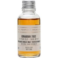 3cl / 55% / The Perfect Measure - From Edradour's Natural Cask Strength series comes this release from cask 1417. Distilled on 28 August 2002, this is rich, fruity and spicy.