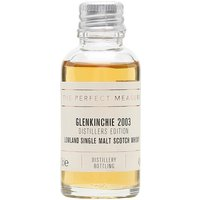 3cl / 43% / The Perfect Measure - The Glenkinchie bottling in Diageo's Distillers Edition series is finished in amontillado-sherry casks. This had added a subtle nuttiness to spicy fruit.