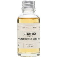 3cl / 46% / The Perfect Measure - Glendronach is one of the Highland distilleries that also produces peated malt. This is subtly smoky with notes of heather honey and white pepper.
