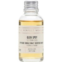 3cl / 43% / The Perfect Measure - Most of the production from Glen Spey goes into the J&B range of blends. This 12-year-old is the only official single malt release and is rich, spicy and fruity.