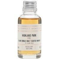 Highland Park Fire 15 Year Old Sample Island Single Malt Scotch Whisky
