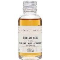 Highland Park The Dark Sample / 17 Year Old Island Whisky