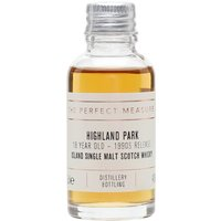 Highland Park 18 Year Old Sample / Bot.1990s Island Whisky