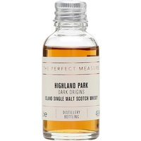 3cl / 46.8% / The Perfect Measure - Dark Origins is a sherried no-age-statement release form Highland Park. Notes of dark chocolate, orange and cherries combine with sweet smoke.