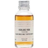 Highland Park Thorfinn Sample Island Single Malt Scotch Whisky