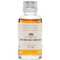 3cl / 44% / The Perfect Measure - A rich and spicy whisky from Jura, this has been aged for 21 years. Initially released for the distillery's 200th anniversary, it was so well received, it's now become a permanent fixture.