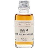 Macallan Edition No.4 Sample Speyside Single Malt Scotch Whisky