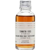 Tomatin 1993 Sample / 24 Year Old / Sherry Cask/ Blackadder Highland Whisky