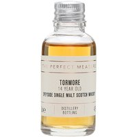 3cl / 43% / The Perfect Measure - Tormore 14 Year Old is aged entirely in bourbon casks. The result is a soft and sweet whisky with notes of cream, toffee and pepper.