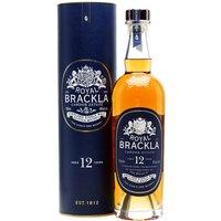 Royal Brackla 12 Year Old Highland Single Malt Scotch Whisky