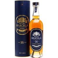 Royal Brackla 16 Year Old Highland Single Malt Scotch Whisky