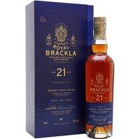 Royal Brackla 21 Year Old / Sherry Finish Highland Whisky