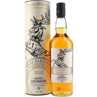 Royal Lochnagar 12 Year Old / Game of Thrones House Baratheon Highland Whisky