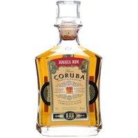 Coruba 18 Year Old Jamaica Rum Single Traditional Blended Rum