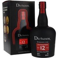 Dictador 12 Year Old Rum Blended Modernist Rum