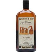 Forsyths WP 151 Proof Rum / Habitation Velier