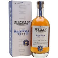 Mezan Panama 2008 Rum Single Modernist Rum