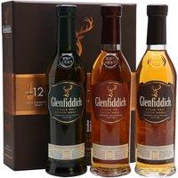 Glenfiddich Collection / 3x20cl Speyside Single Malt Scotch Whisky
