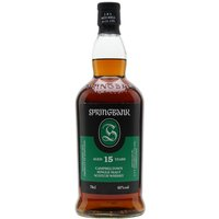 70cl / 46% / Distillery Bottling - Another fine malt for a Havana, Springbank 15yo has an almost bewildering array of flavours: dark chocolate, figs, marzipan, brazil nuts and vanilla are just some of the notes on show. Absolutely top-class.