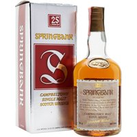 Springbank 25 Year Old / Bot.1980s Campbeltown Whisky