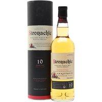 Stronachie 10 Year Old Speyside Single Malt Scotch Whisky