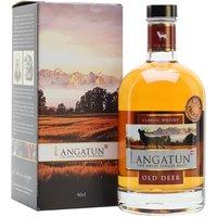 Langatun Old Deer 2013 / 4 Year Old / Cask Proof Swiss Whisky