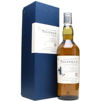 70cl / 54.2% / Distillery Bottling - A Talisker 25yo from Diageo's Special Releases is always a thing to cherish - and this is no exception, with a very clean, citric emphasis when compared to some of the earlier releases. As we've come to expect from Talisker, this is nothing short of superb.