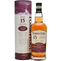 70cl / 46% / Distillery Bottling - Tomintoul has upped the age on the Portwood Finish from 12 to 15 for this limited release. Full bodied and rich with lots of red-fruit notes, this is a very approachable yet complex whisky.