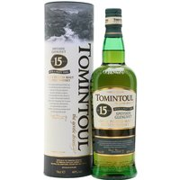 Tomintoul 15 Year Old / Peaty Tang Speyside Single Malt Scotch Whisky
