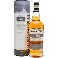 70cl / 40% / Distillery Bottling - Tl�th is a non-age-statement release from Tomintoul. Aged exclusively in bourbon barrels this is sweet with notes of toffee, vanilla, white pepper and nutmeg.