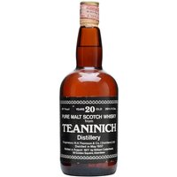 75cl / 46% / Cadenhead's - An old bottling of 1957 vintage Teaninich. This has been matured for 20 years and bottled in 1977 by Cadenhead's.