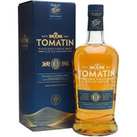 100cl / 40% / Distillery Bottling - Initially released for travel retail, this eight-year-old from Tomatin has been aged in a combination of bourbon and sherry casks, resulting in a whisky with notes of apples, pears, ginger and cinnamon.