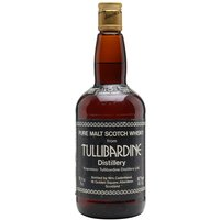 75cl / 45.7% / Cadenhead's - The Highland distillery Tullibardine was closed in 1994 and left dormant until 2003 when it was bought back to life by Picard Vins & Spiriteux. An extremely rare bottling from the Edinburgh based indie bottler Cadenhead's, as this particular whisky was distilled in 1965 pre closure that makes this a highly collectable piece of history.