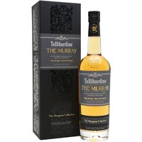 70cl / 56.1% / Distillery Bottling - The Murray Edition is a 2004 whisky from Tullibardine as part of the Marquess Collection. Aged in first-fill bourbon barrels for at least 11 years, this cask-strength whisky has notes of citrus fruit, vanilla, malt and pepper.