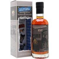 Distillery 291 11 Month Old Rye Spirit / Boutique-y Rye