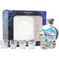 Crystal Head Aurora Vodka / 4 Shot Glass Gift Set