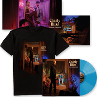 Young Enough Blue Vinyl + T-Shirt + Signed Poster