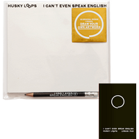 I Cant Even Speak English CD + Lyric Book