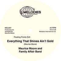 Maurice Moore And Family Affair Band / Everything That Shines Ain't Gold 12 Inch