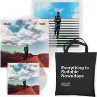 Tell Your Friends CD (Signed) + Clear Vinyl LP (Ltd Edition Signed, w/ Print Insert) + Tote Bag