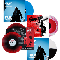 Four Album Coloured Vinyl Bundle