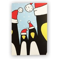 Pack Of Four Xmas Cards